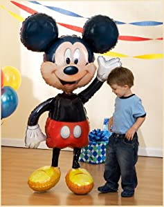 "Disney Mickey 52"" Airwalker Jumbo Balloon by Birthday Express"