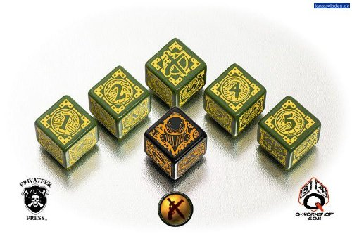 Privateer Press WARMACHINE Faction Dice - Mercenaries