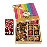 Chocholik Awesome Combination Of Almonds, Raisin, Cashew, Truffles & Chocolates Rocks Gift Box With 3d Mobile...
