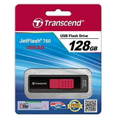 Transcend JetFlash 760 128 GB USB 3.0 Flash Drive TS128GJF760 (up to 85/25 MB/s