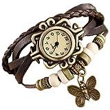 Rise N Shine Vintage Bracelet Analogue Brown Women's Watch (rise0001)