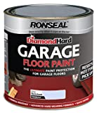 Ronseal DHGFPB25L 2.5L Diamond Hardgarage Floor Paint - Steel Blue