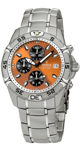 Festina Sport 16169/8 Unisex Quartz Watch With Metal Band