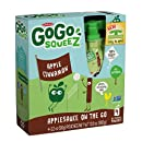 GoGo SqueeZ applecinnamon, Applesauce on the Go, 3.2-Ounce Pouches (Pack of 48)