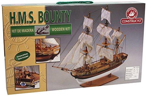 Constructo-D80621-Holzbausatz-HMS-Bounty