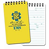 "1 X All-Weather EMS Pocket Notebook 3"" x 5"" - 112"