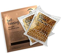 Comodynes Tplus Tan Plus Package (16 Self Tanning Towelettes + 8 Intensive Self Tanning Towelettes)