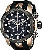 Invicta Men's 0361 Reserve Collection Venom Chronograph Black Polyurethane Watch
