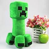 コスプレ小道具/小物♪Minecraft(マインクラフト)クリーパー(Creeper) ぬいぐるみ 人形 30cm コスチューム