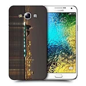 Snoogg Big Samreen Printed Protective Phone Back Case Cover ForSamsung Galaxy E7