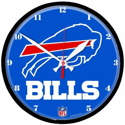 NFL Buffalo Bills Round Clock