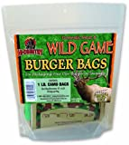 Hi-Country Snack Foods Domestic Meat and WILD GAME 1 lb. Burger Bags - 36 Ct.