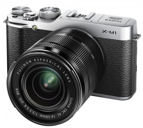 fujifilm-x-m1-camera-silver-163mp-16-50mm-lens-kit-3-inch-lcd