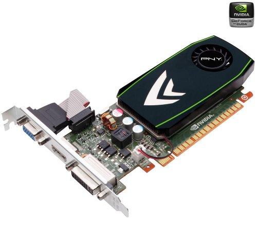 PNY Technologies nVIDIA GT430 Graphics Card (700MHz, 1600MHz, 1GB, 128Bit, DDR3, VGA, Dual DVI, HDMI, PCI-Express)