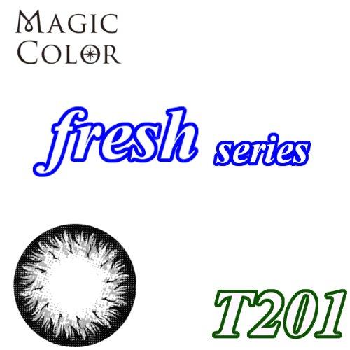 MAGICCOLOR (マジックカラー) fresh T201 度なし 14.0mm 1ヵ月使用 2枚入り