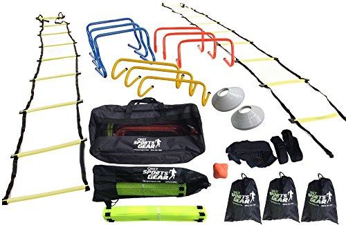 OSG Ultimate Sports Fitness Training Equipment Speed & Agility Kit Combo Set