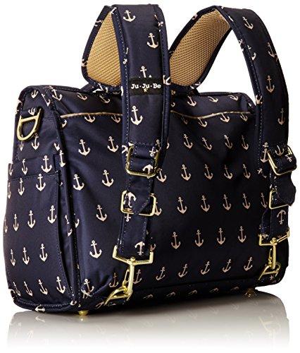 ju ju be legacy nautical collection b f f convertible diaper bag the admira. Black Bedroom Furniture Sets. Home Design Ideas