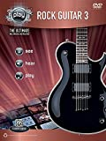 Alfred's PLAY: Rock Guitar 3: The Ultimate Multimedia Instructor (Book & DVD)
