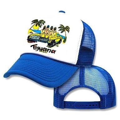Tijuana Baja Club Mesh Trucker Hat Cap