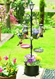 Patio Bird Feeder with Solar Light 90