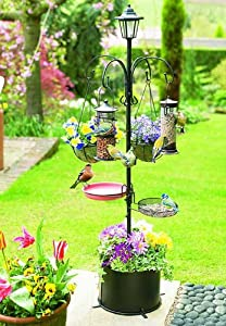 Patio Bird Feeder with Solar Light 90