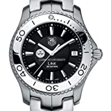 TAG HEUER watch:Clemson University TAG Heuer Watch - Men's Link with Black Dial at M.LaHart