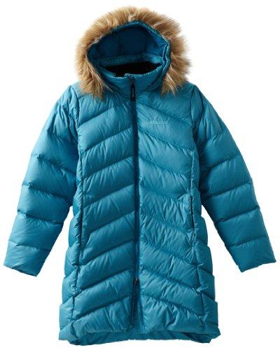 Marmot Kinder Daunenmantel Montreaux, mosaic blue, M