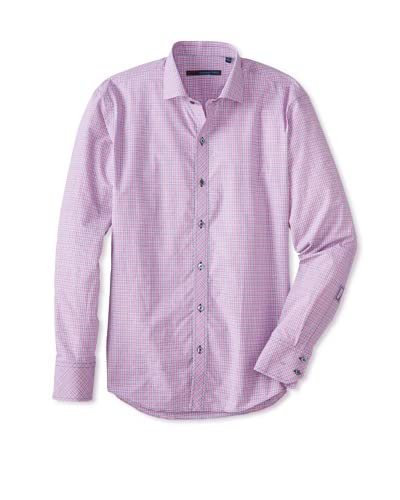 Zachary Prell Men's Chinh Checked Long Sleeve Shirt