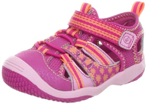 Stride Rite Baby Petra Sandal (Infant/Toddler),Fuchsia/Peachy Keen,6 M Us Toddler front-802542