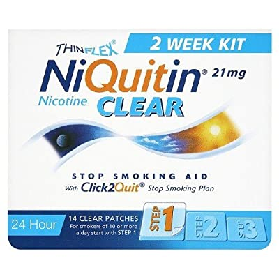 Niquitin CQ Patches 21mg Clear - 14 from Niquitin