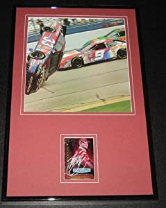 Tony Stewart Signed Picture - CRASH Framed 11x17 Display - Autographed NASCAR Photos by Sports Memorabilia