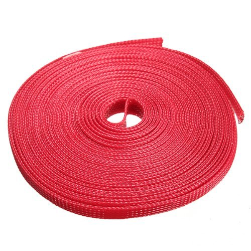 water-wood-8mm-expanding-braided-cable-wire-sheathing-sleeve-sleeving-harness-10m328feet