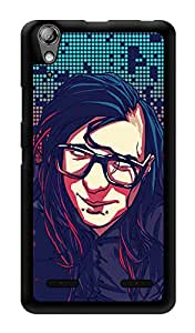 "Humor Gang Skrillex Up Close Printed Designer Mobile Back Cover For ""Lenovo A6000"" (3D, Glossy, Premium Quality Snap On Case)"