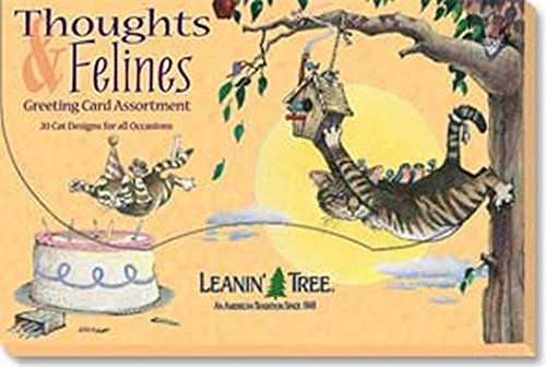 thoughts-felines-leanin-tree-greeting-card-assortment-ast90603-20-cards-with-full-color-interiors-an