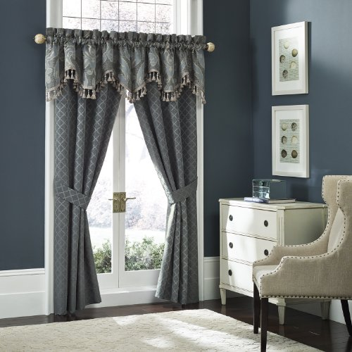Croscill Chantal M-Arc Valance, 54 By 18-Inch front-1006625