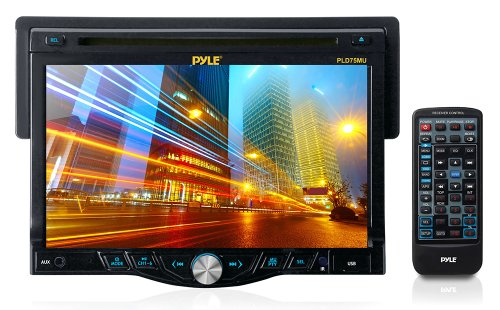 Pyle Pld75Mu 7-Inch Touch Screen Receiver Head-Unit With Cd/Dvd Player And Usb/Sd Card Readers