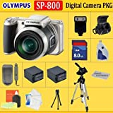 Olympus SP-800UZ Digital Camera(Includes