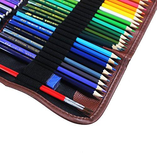 pencil case huhuhero 72 color pencil holder organizer art. Black Bedroom Furniture Sets. Home Design Ideas