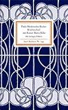 Briefwechsel mit Rainer Maria Rilke. Insel-Bücherei,  Band 1242 (3458192425) by Paula Modersohn-Becker