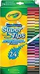 Crayola Super Tips (24- Piece, Multi-...
