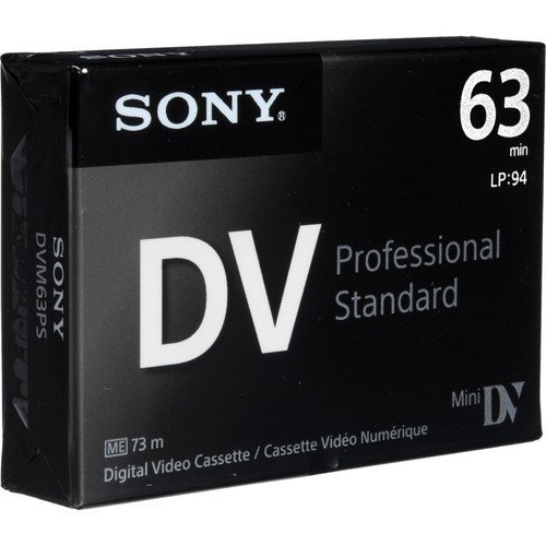 Best Buy! Sony DVM63PS MiniDV 63min Professional Standard - 5 Pack