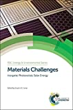 img - for Materials Challenges: Inorganic Photovoltaic Solar Energy (RSC Energy and Environment Series) book / textbook / text book