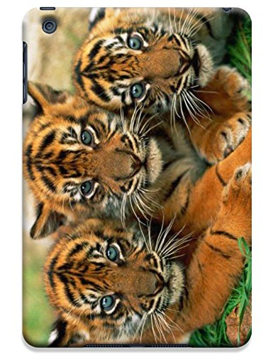 Tiger Case Cover Hard Back Cases Beautiful Nice Cute Animal Hot Selling Cell Phone Cases For Apple Accessories Ipad Mini # 10 front-910253