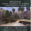 Quatuor A Cordes Op.51 N�2 - Quintette Pour Piano Op.34