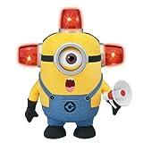 怪盗グルーのミニオン危機一発 10インチ トーキング&ライトアッププラッシュ ビードー ファイアーマン ミニオンスチュワート / DESPICABLE ME TALKING & LIGHT-UP PLUSH BEE-DO FIREMAN MINION STUART