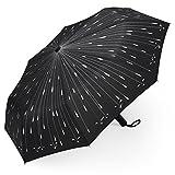 折り畳み傘 PLEMO自動開閉折りたたみ傘 雨の雫