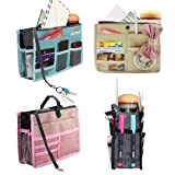 Dahlia Womens Nifty Purse Organizer Insert for Handbags