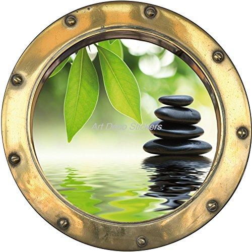 stickersnews-sticker-hublot-trompe-l-oeil-deco-galets-bambous-dimensions-20x20cm