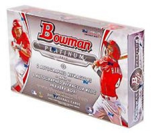 2013 Bowman Platinum Hobby Baseball Box (3 Autos and maybe Puig) (2013 Bowman Platinum compare prices)