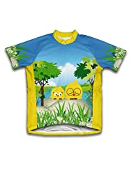 Mrs. & Miss. Tweet Short Sleeve Cycling Jersey for Women